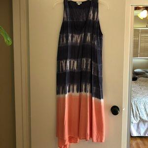 Splendid maxi dress/cover up size large